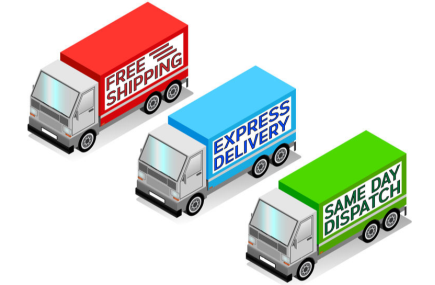 Free Delivery and Same Working Day Dispatch