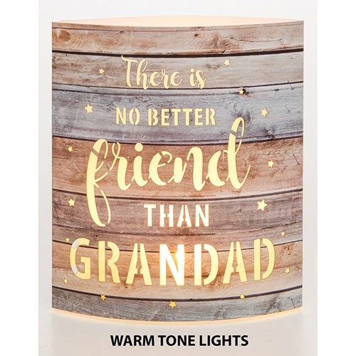 Starlight Lantern -  Warm Tones LED - Grandad