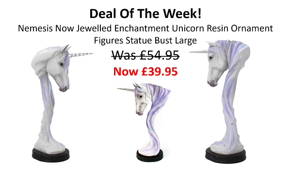 Nemesis Now Jewelled Enchantment Unicorn Resin Ornament